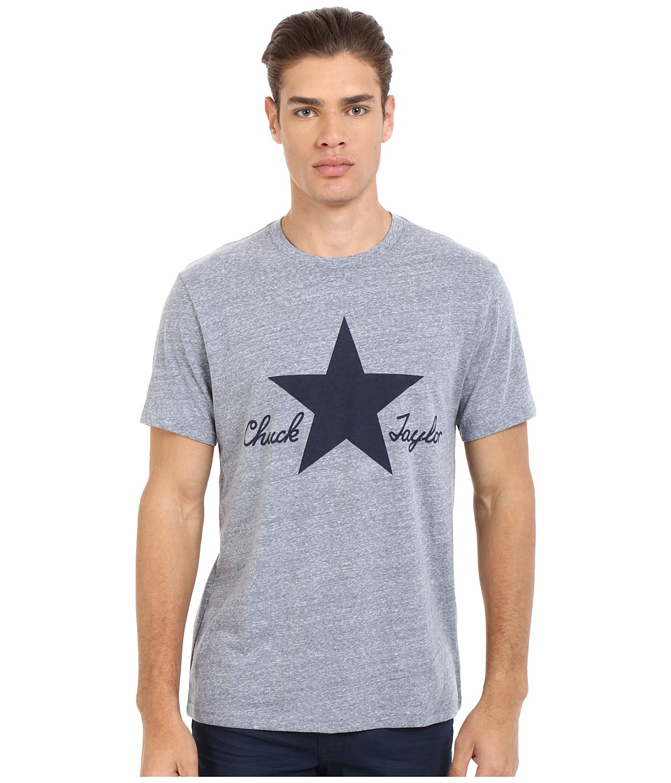 Converse - CTASII Heathered Tee (Navy Heather) Men's T Shirt