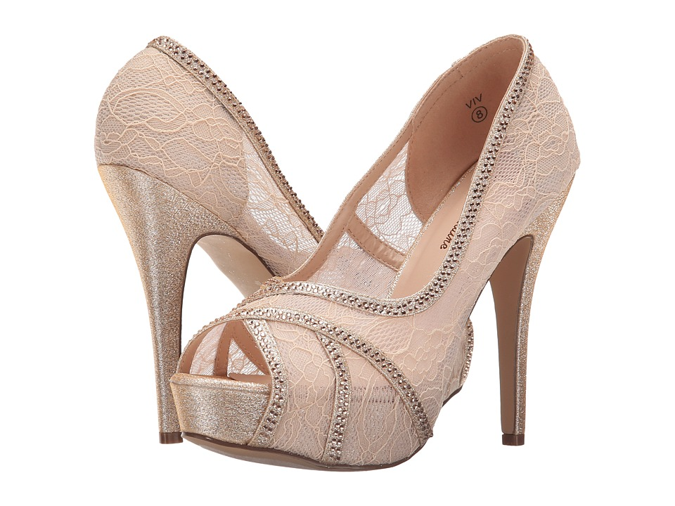 Lauren Lorraine - Viv (Nude) Women's Shoes