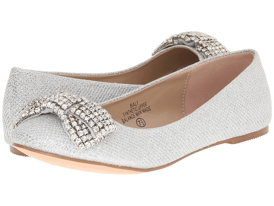 Lauren Lorraine - Bali (Silver) Women's Flat Shoes