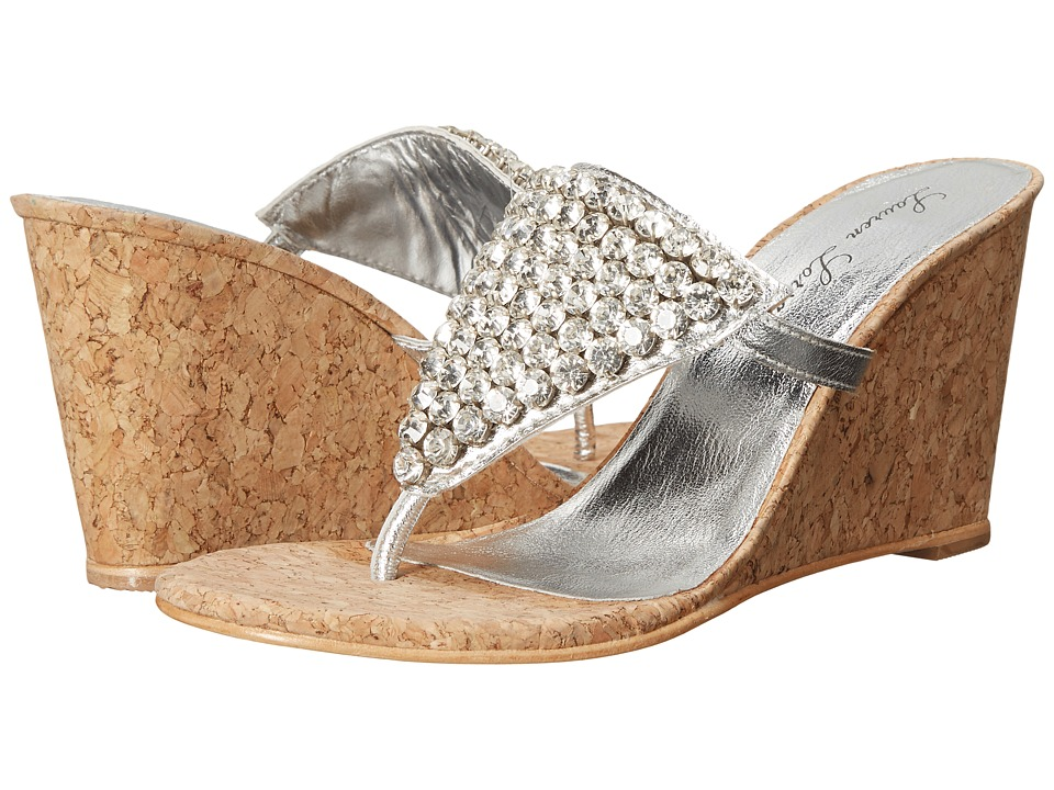 Lauren Lorraine - Anguilla (Cork Silver) Women's Shoes