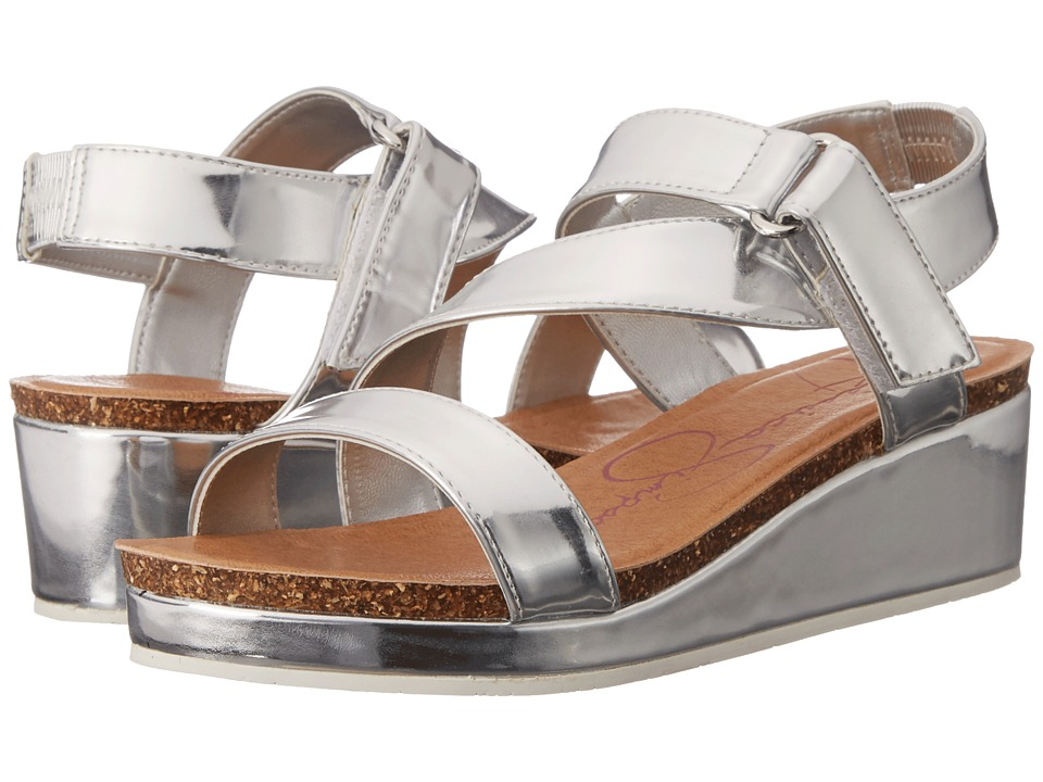 Jessica Simpson Kids - Maren (Little Kid/Big Kid) (Silver Metal) Girl's Shoes