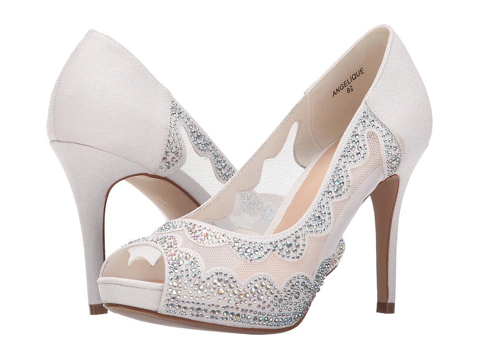 Lauren Lorraine - Angelique (White) Women's Toe Open Shoes