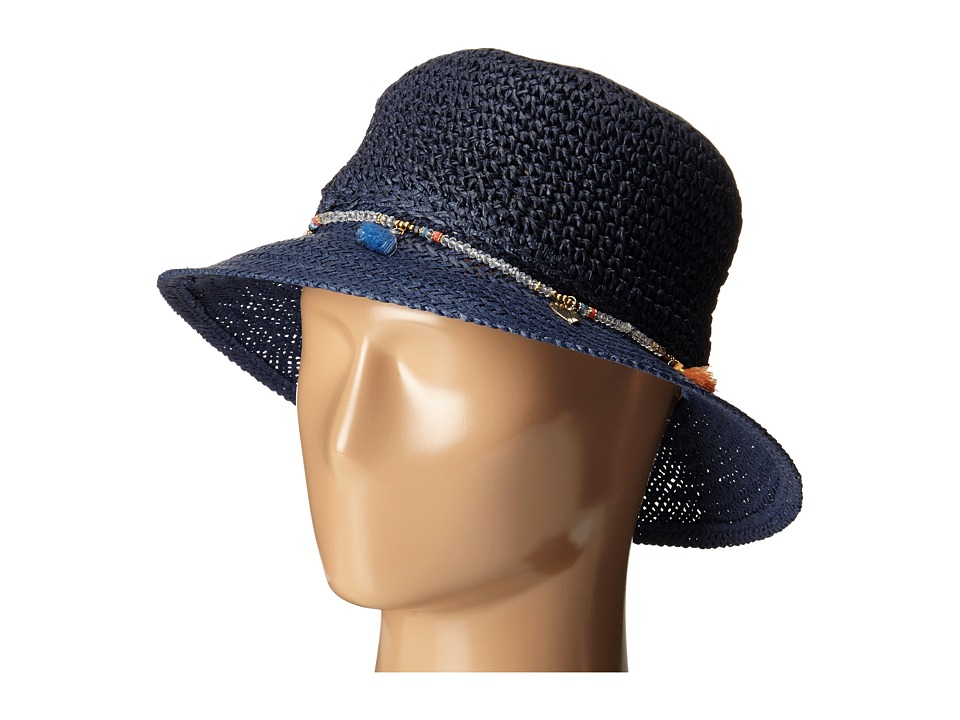 Echo Design - Lagoon Mid Brim Hat (Deep Blue Sea) Bucket Caps