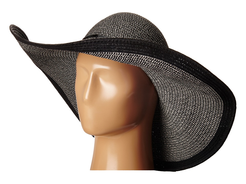 Echo Design - Metallic Floppy Hat (Black) Traditional Hats
