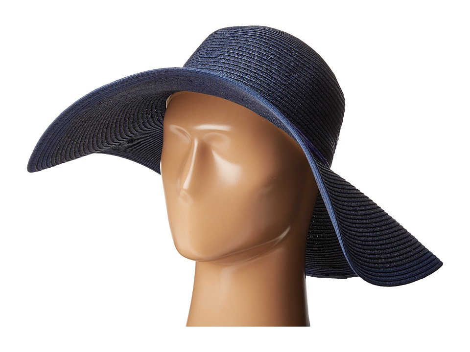 Echo Design - Metallic Floppy Hat (Deep Blue Sea) Traditional Hats