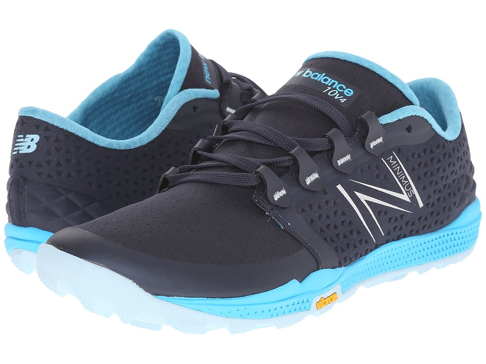 New Balance - Minimus WT10v4 (Black/Grey) Women's Running Shoes