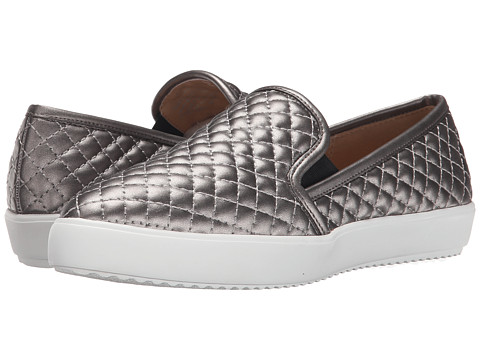 Nine West - Damian (Pewter Synthetic) Women's Slip on Shoes