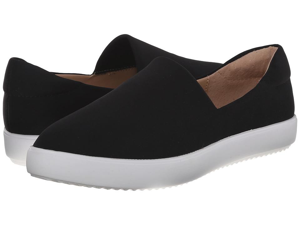 Nine West - Domnick (Black Fabric) Women's Slip on Shoes