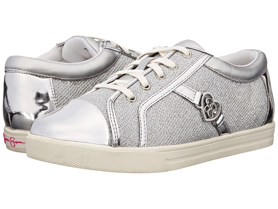 Jessica Simpson Kids - Aurora (Toddler) (Silver Lurex) Girl's Shoes