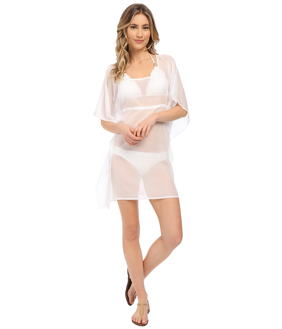 Echo Design Solid Butterfly Cover-Up (White) Women