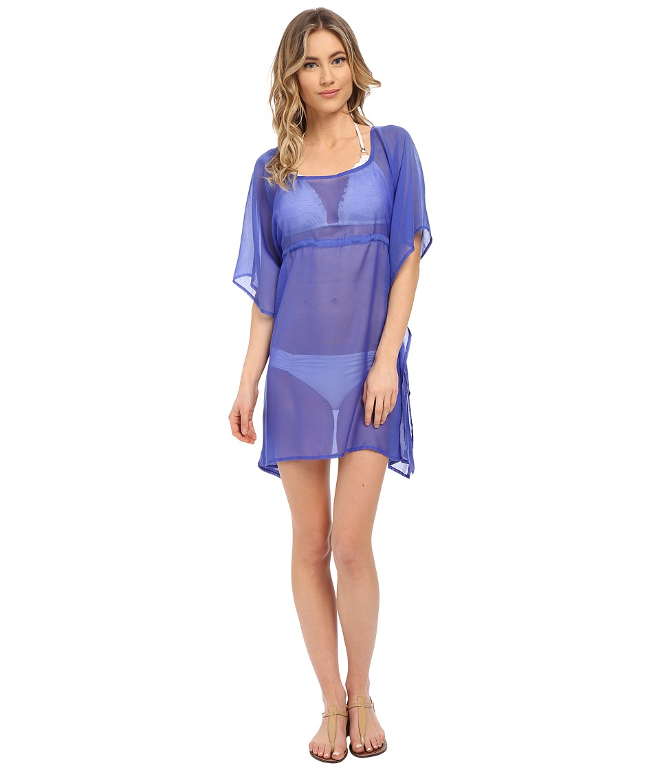 Echo Design - Solid Butterfly Cover-Up (Dazzling Blue) Women's Swimwear