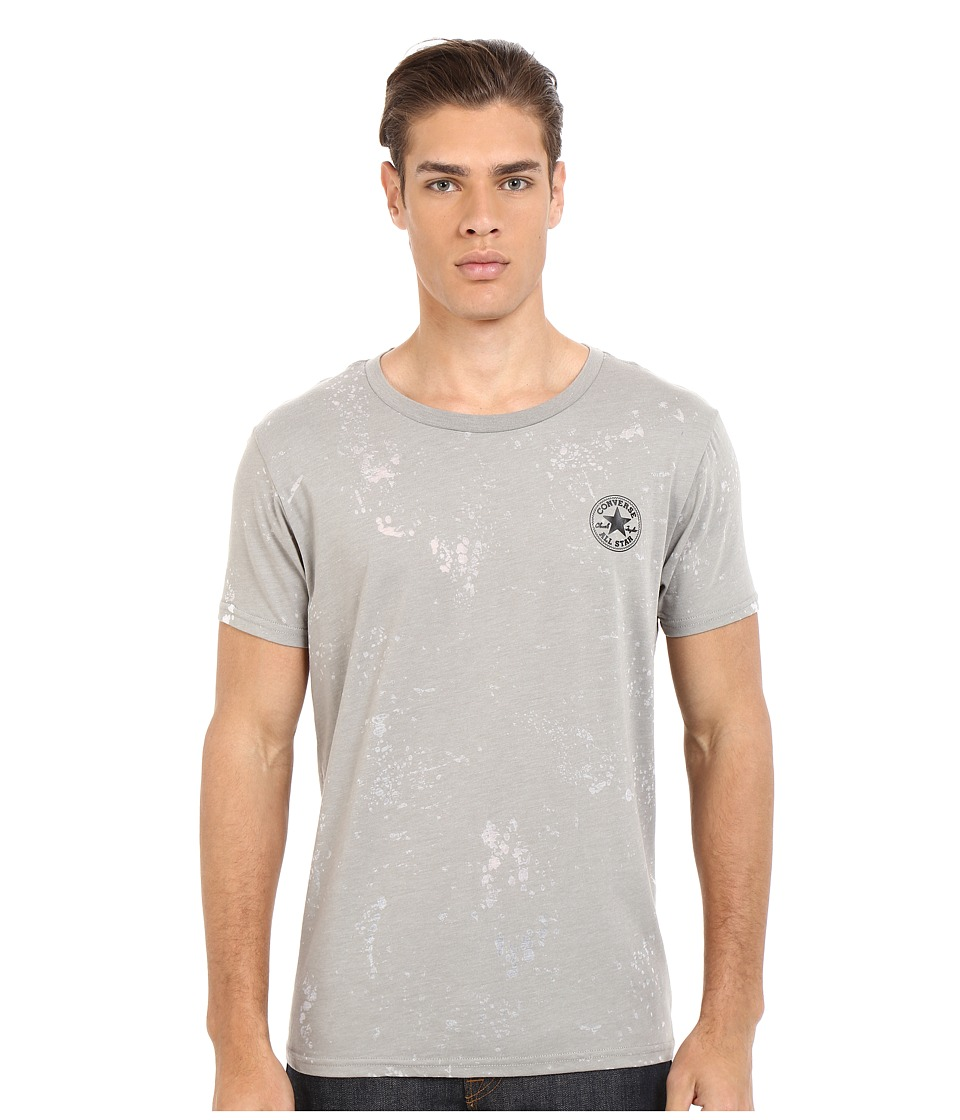 Converse - AMT Burnout Tee (Vintage Grey Heather) Men's T Shirt