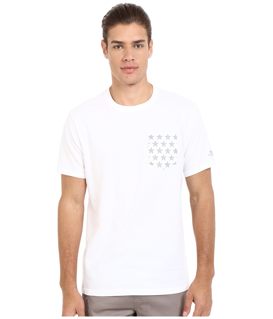 Converse - CTASII Reflective Pocket Tee (White) Men's T Shirt