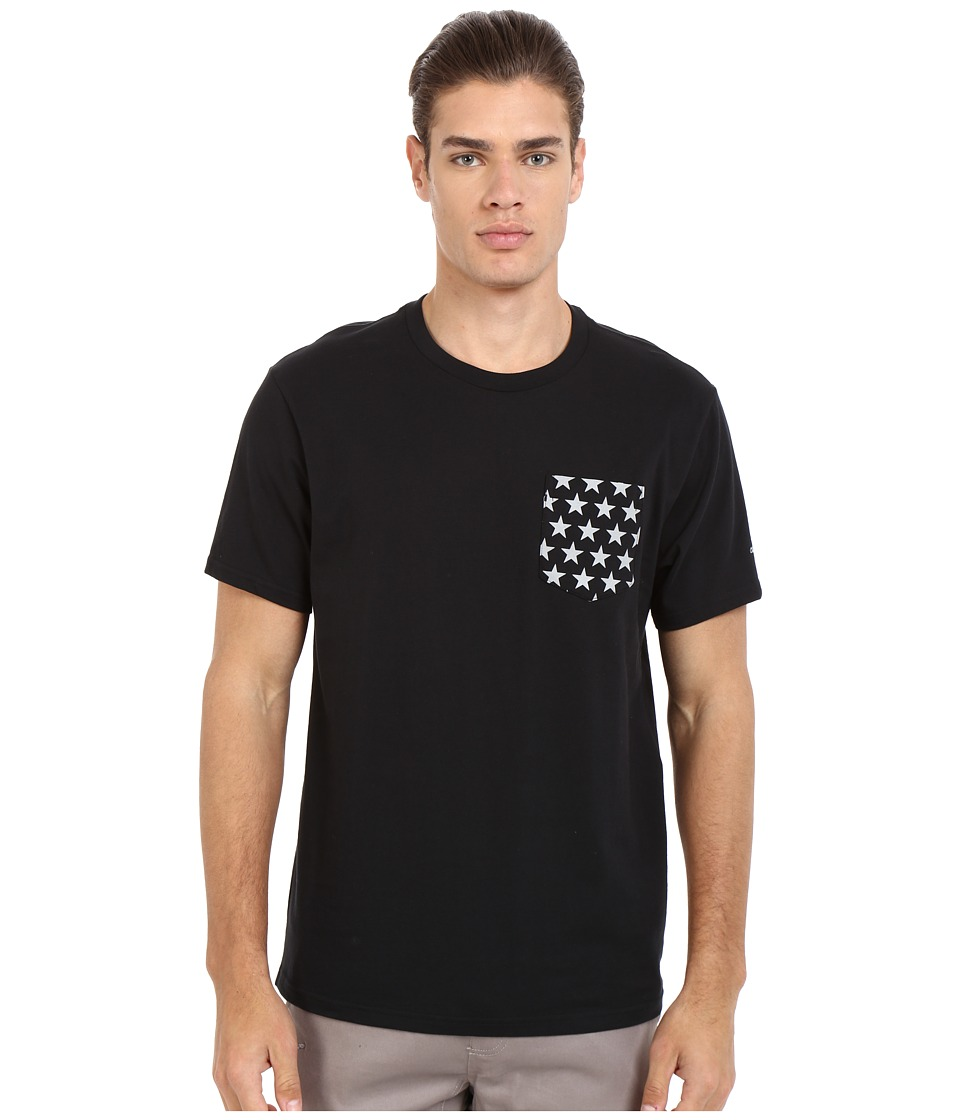 Converse - CTASII Reflective Pocket Tee (Black) Men's T Shirt