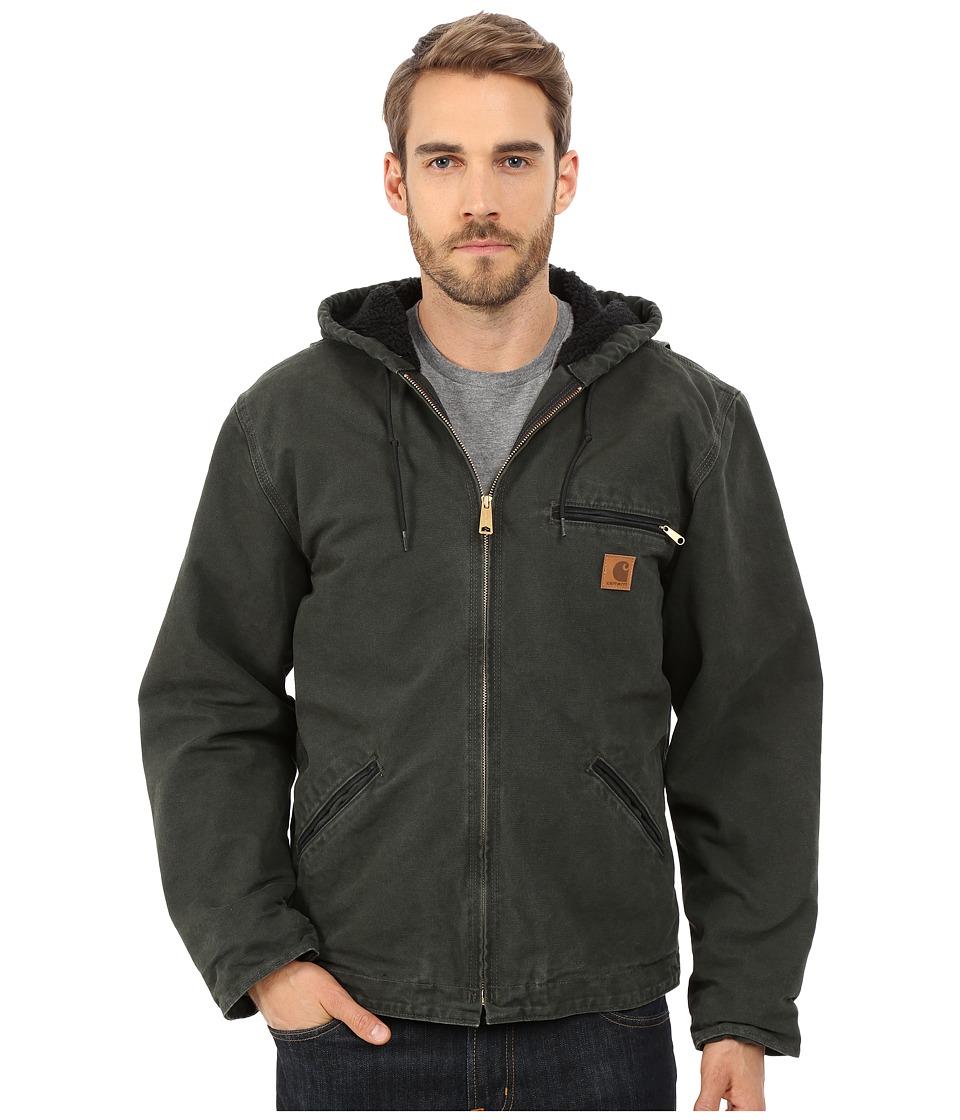 Carhartt - Sierra Jacket Sherpa Lined Sandstone (3XL/4XL) (Moss) Men's Coat