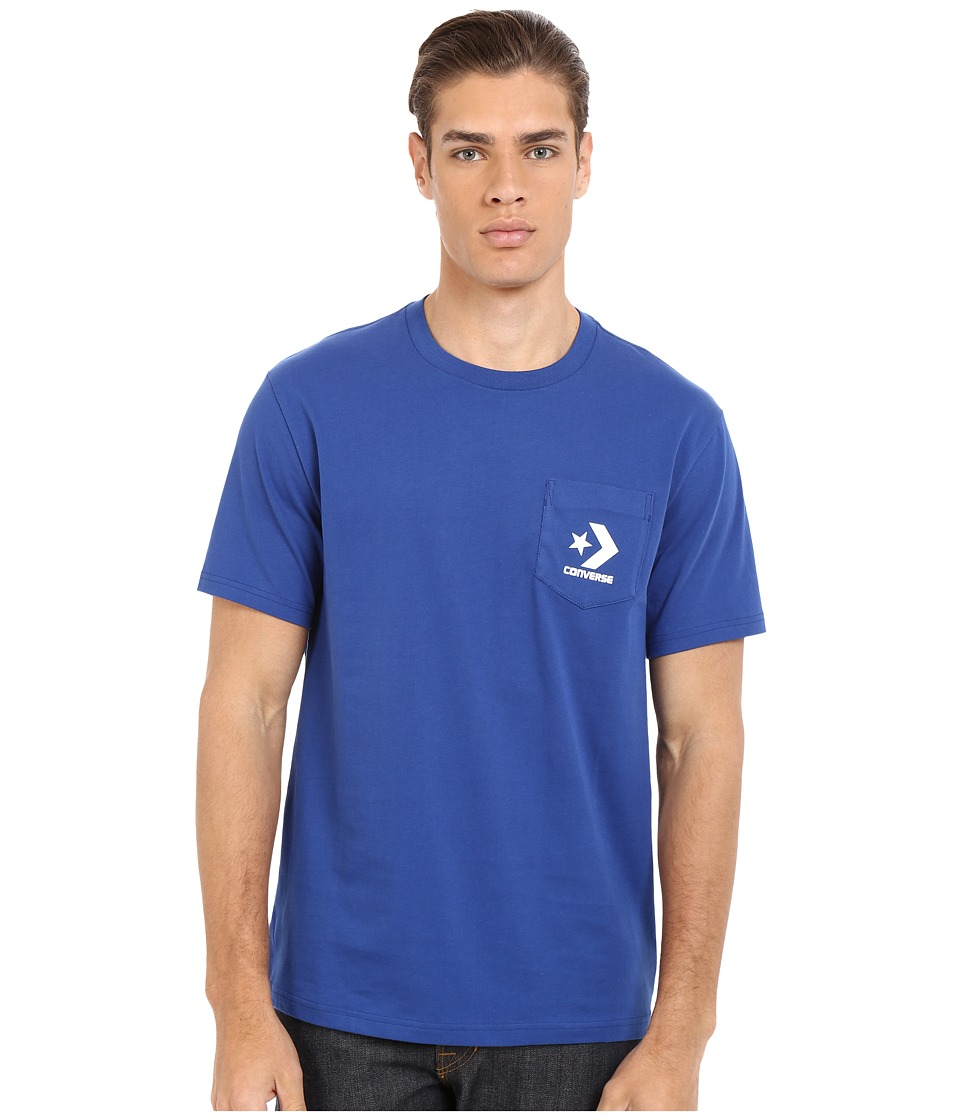 Converse - Cons Pocket Tee (Roadtrip Blue) Men's Short Sleeve Pullover