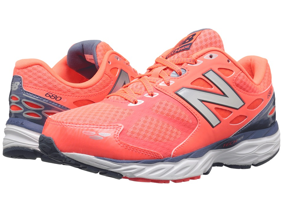 New Balance - W680v3 (Dragonfly/Flame) Women's Running Shoes