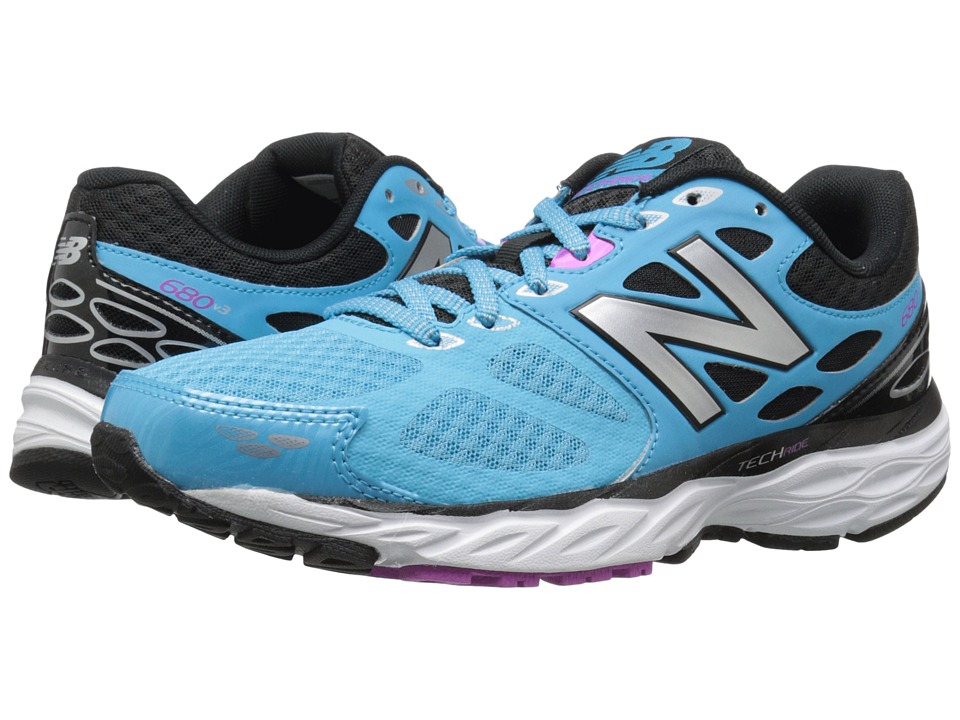 New Balance - W680v3 (Bayside/Navy) Women's Running Shoes