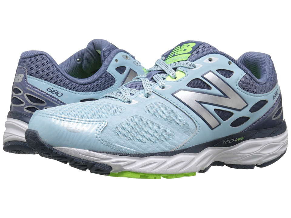 New Balance - W680v3 (Freshwater/Toxic) Women's Running Shoes