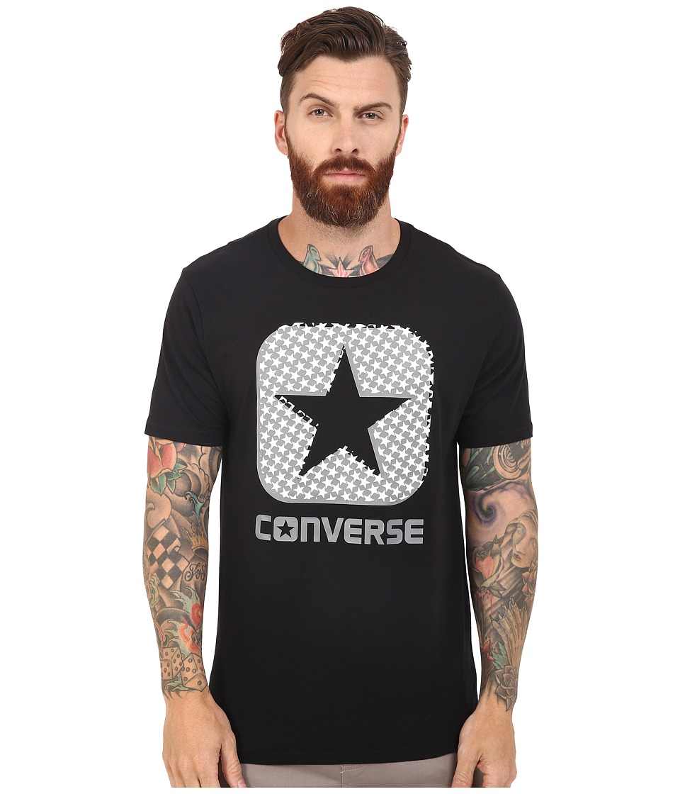 Converse - Americana Stars Fill Tee (Black) Men's T Shirt
