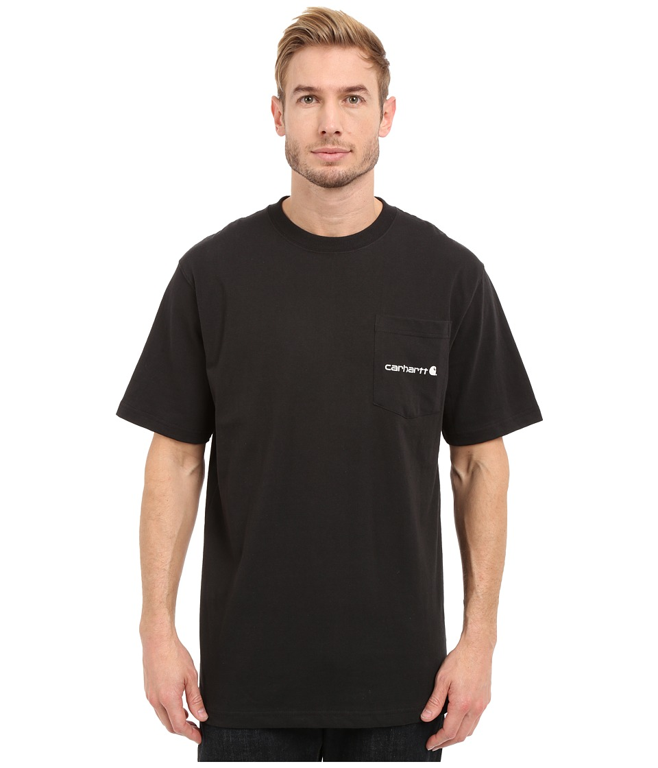 Carhartt - Workwear Graphic Hunting Dogs Short Sleeve T-Shirt (Black) Men's Short Sleeve Pullover