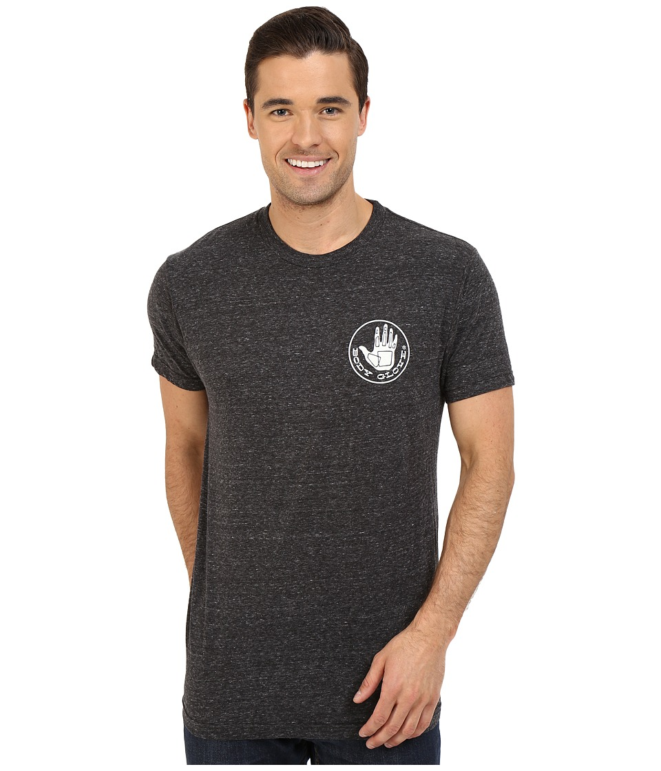 Body Glove - 47137-Herondo Tee (Black Snow Heather) Men's T Shirt