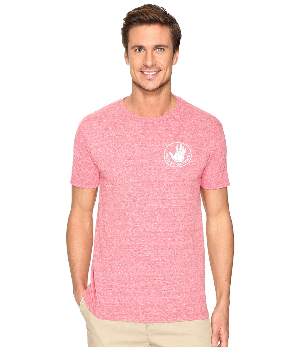 Body Glove - 47137-Herondo Tee (Red Snow Heather) Men's T Shirt