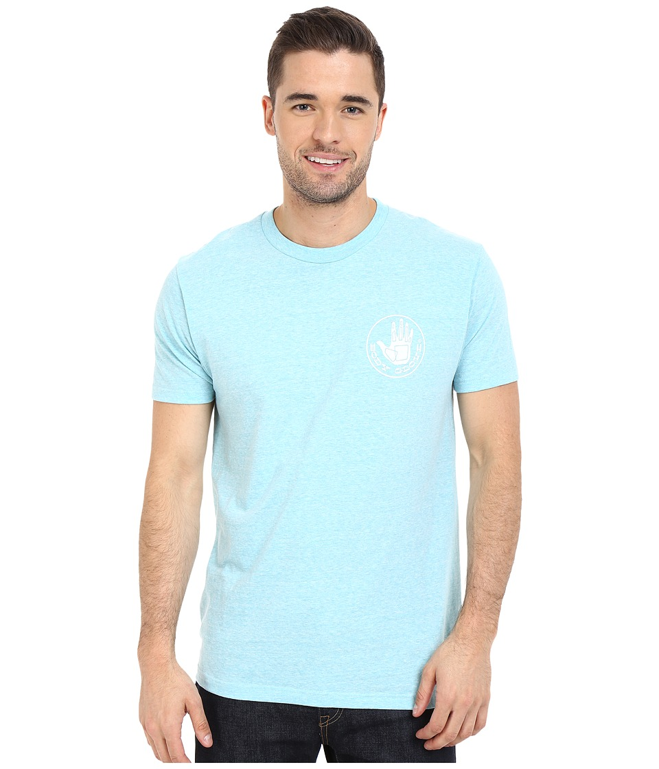 Body Glove - 47137-Herondo Tee (Atlantis Snow Heather) Men's T Shirt