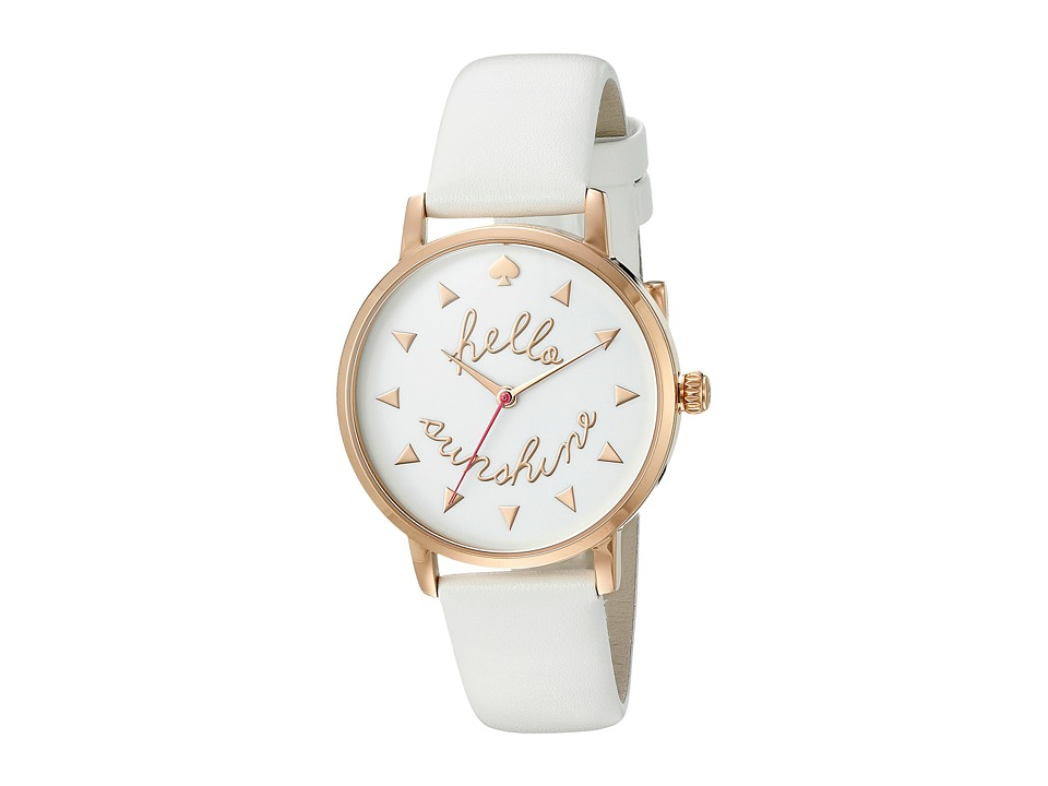 Kate Spade New York - Metro - KSW1089 (White) Watches