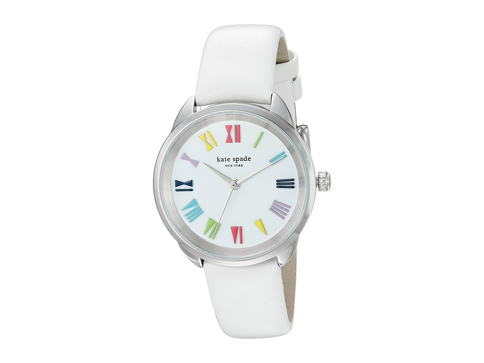 Kate Spade New York - Crosstown - KSW1092 (White) Watches