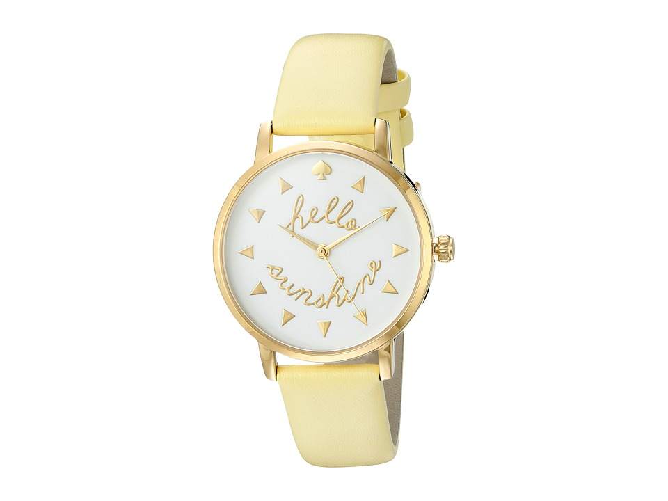 Kate Spade New York - Metro - KSW1090 (White) Watches