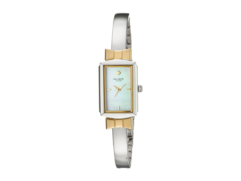 Kate Spade New York - Bowtie Bangle - KSW1079 (White) Watches
