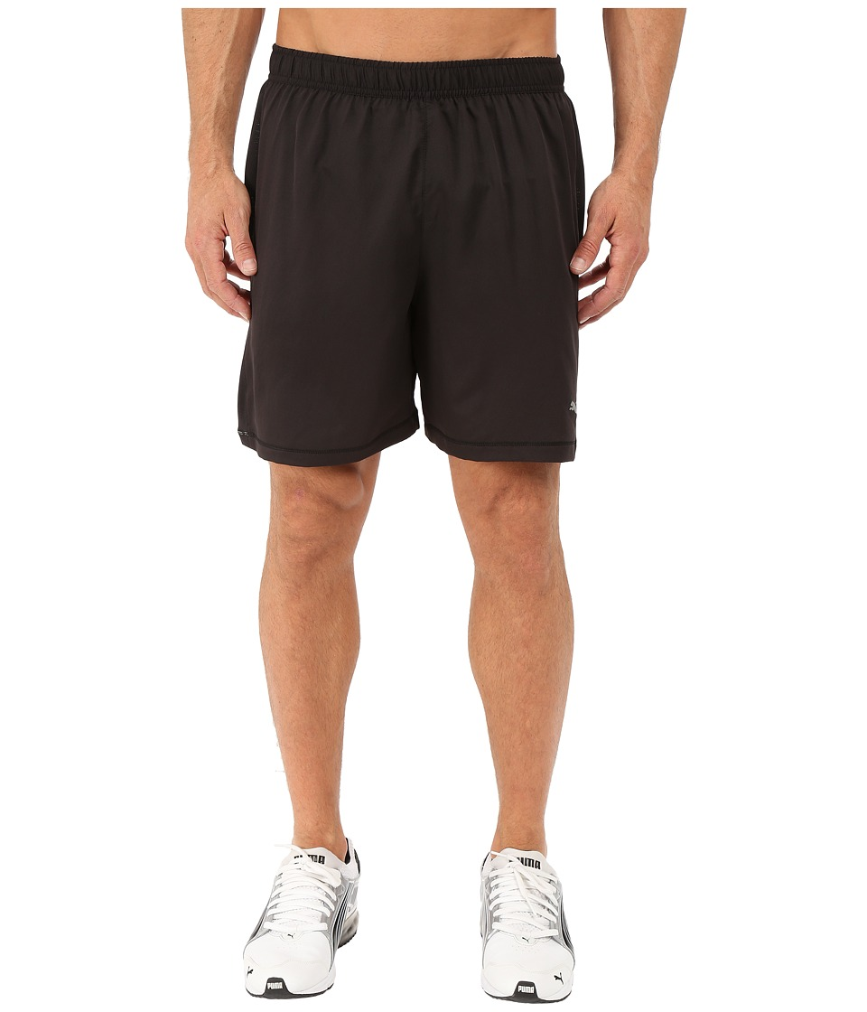 PUMA - PE Running 7 Shorts (Black) Men's Shorts