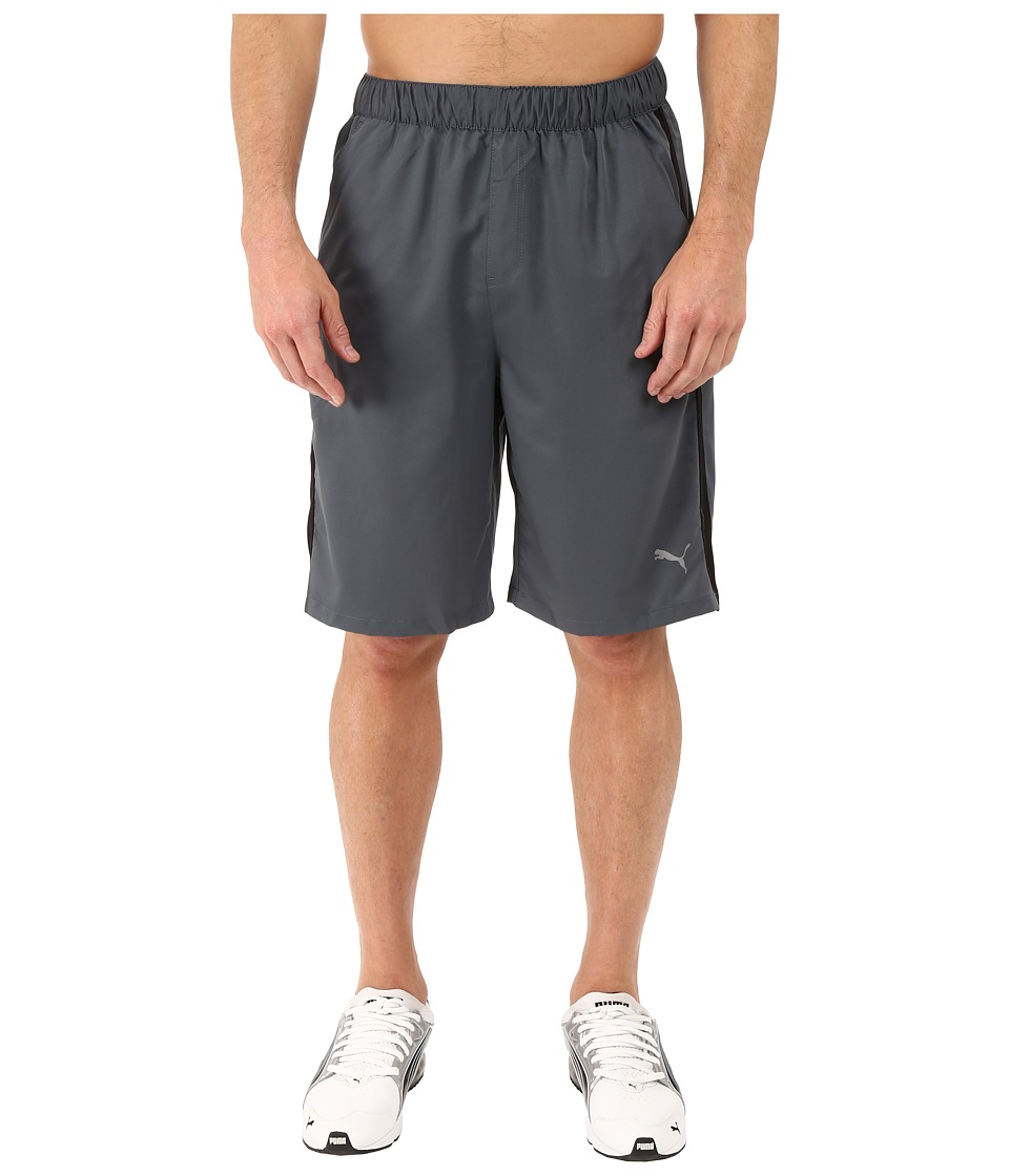PUMA - Active Stretch 10 Shorts (Turbulence/Black) Men's Shorts
