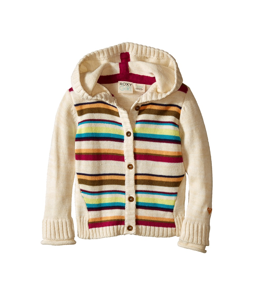 Roxy Kids - Pom-Pom Sweater (Infant) (Bleached Sand) Girl's Sweater