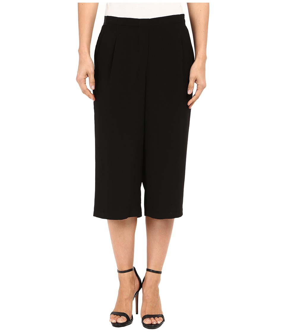 B Collection by Bobeau - Harley Culotte Trousers (Black) Women's Casual Pants