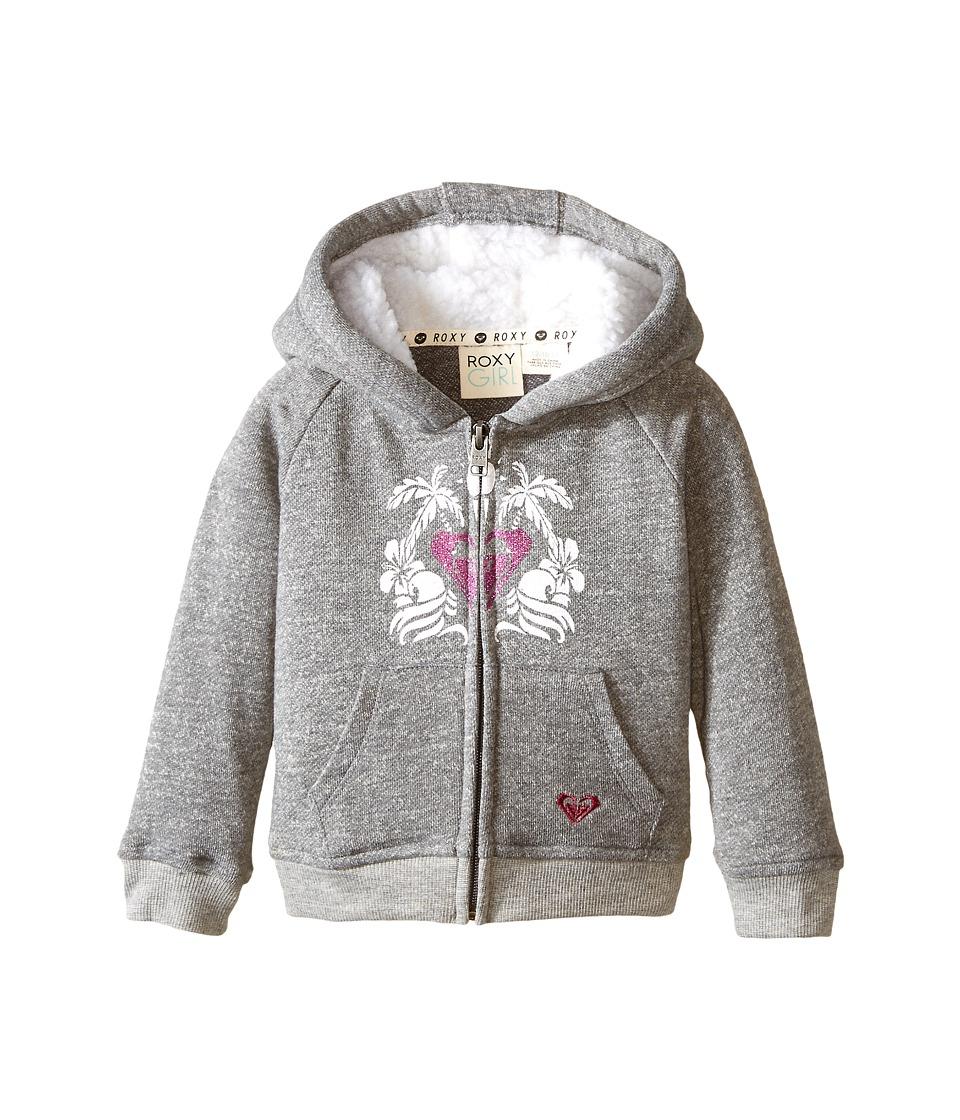 Roxy Kids - Mirage Hoodie (Infant) (Heritage Heather) Girl's Sweatshirt