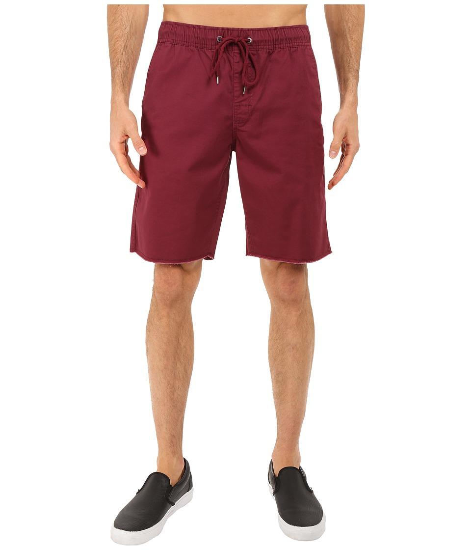 Body Glove - Dazed Walkshorts (Burgundy) Men's Shorts