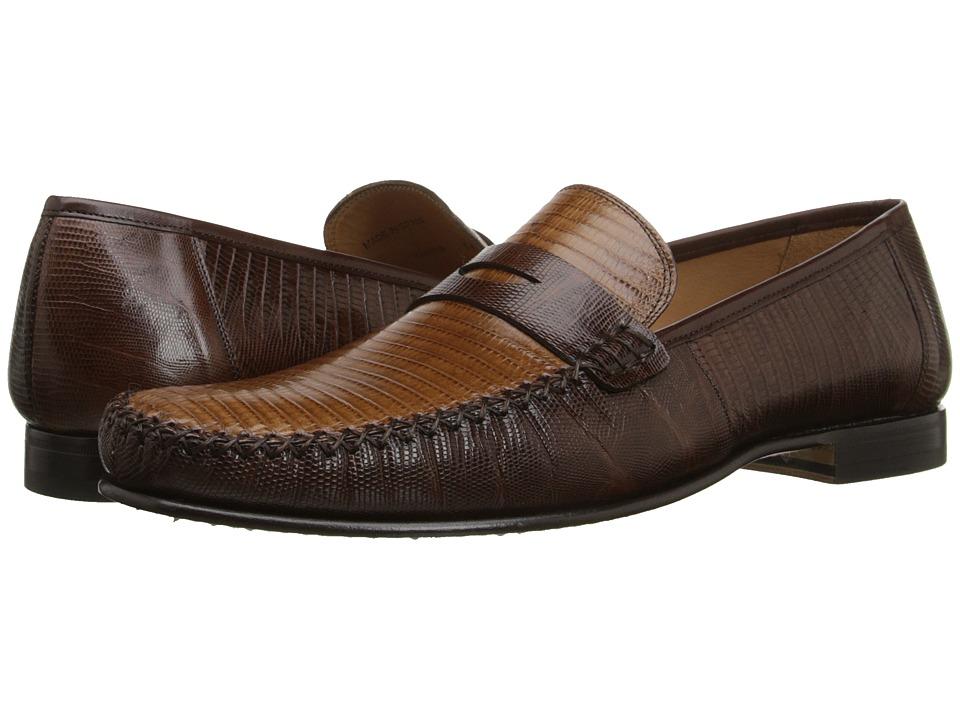 Mezlan - Cubas (Brown/Camel) Men's Slip on Shoes