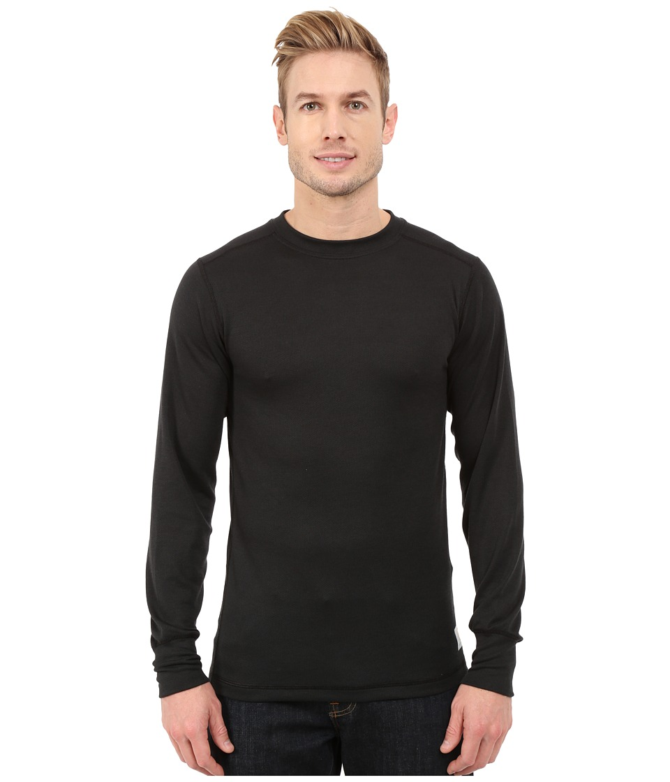 Carhartt - Base Force Cold Weather Crew Neck Top (Black) Men's Clothing