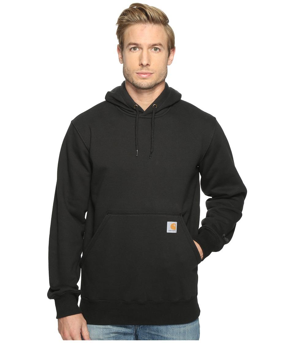 Carhartt - Rain Defender Paxton Heavyweight Hooded Sweatshirt (Black) Men's Sweatshirt