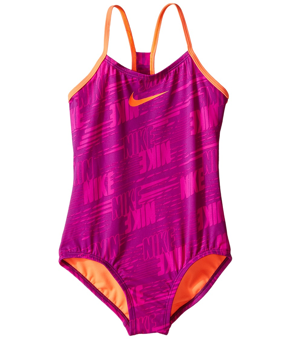 Nike Kids Racerback Tank Top (Big Kids) (Cosmic Purple) Girl