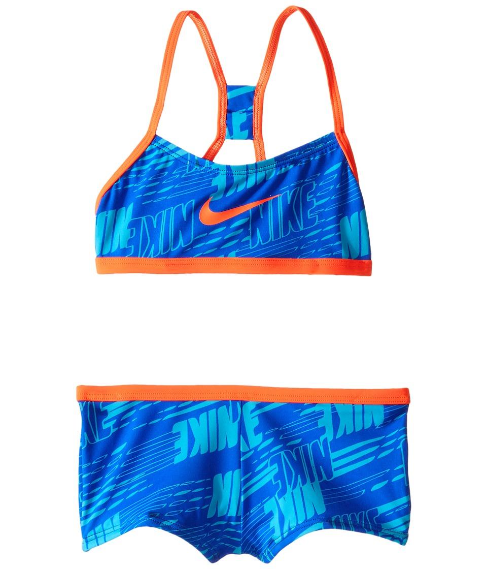 Nike Kids - Racerback Bikini (Big Kids) (Hyper Cobalt) Girl's Swimwear