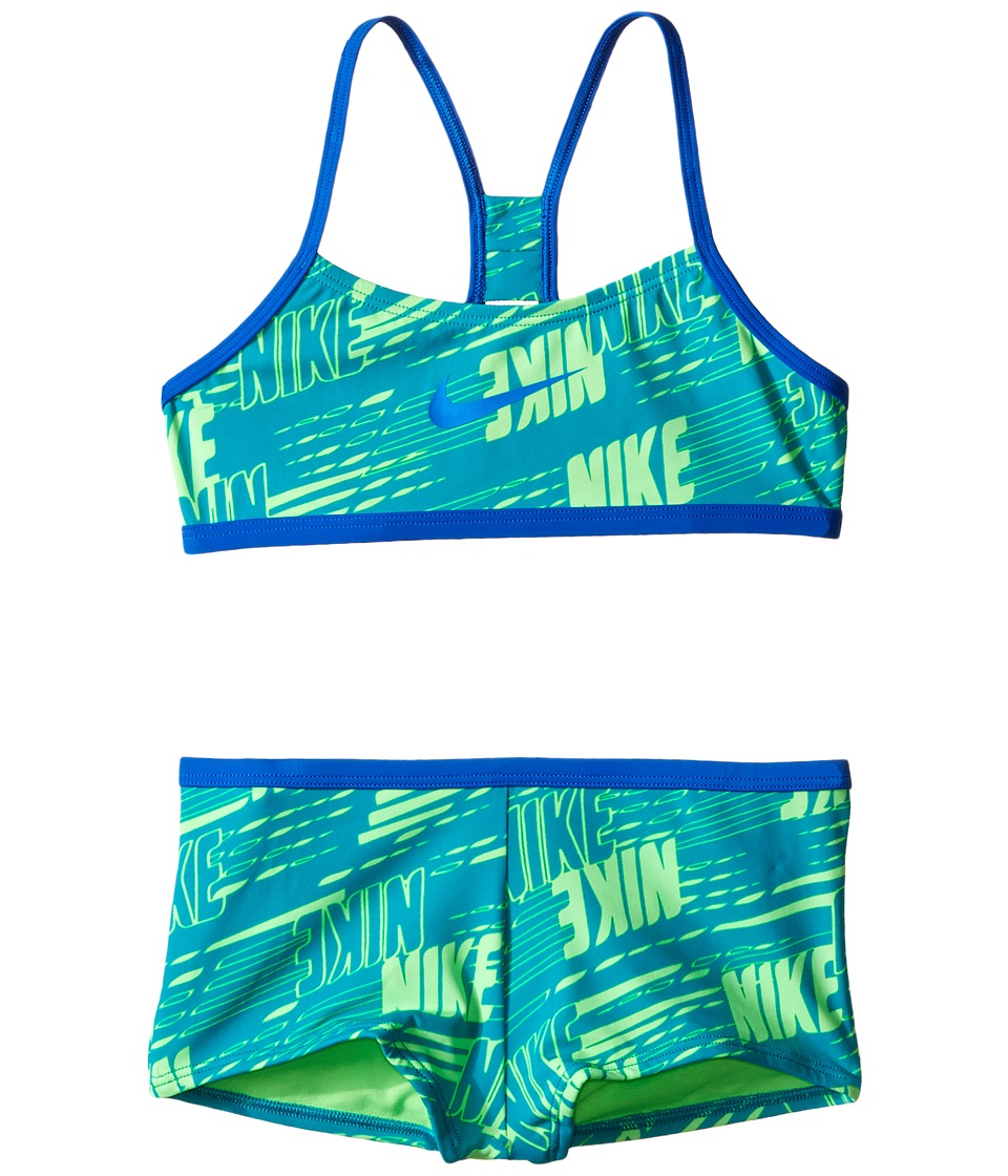 Nike Kids Racerback Bikini (Big Kids) (Energy) Girl