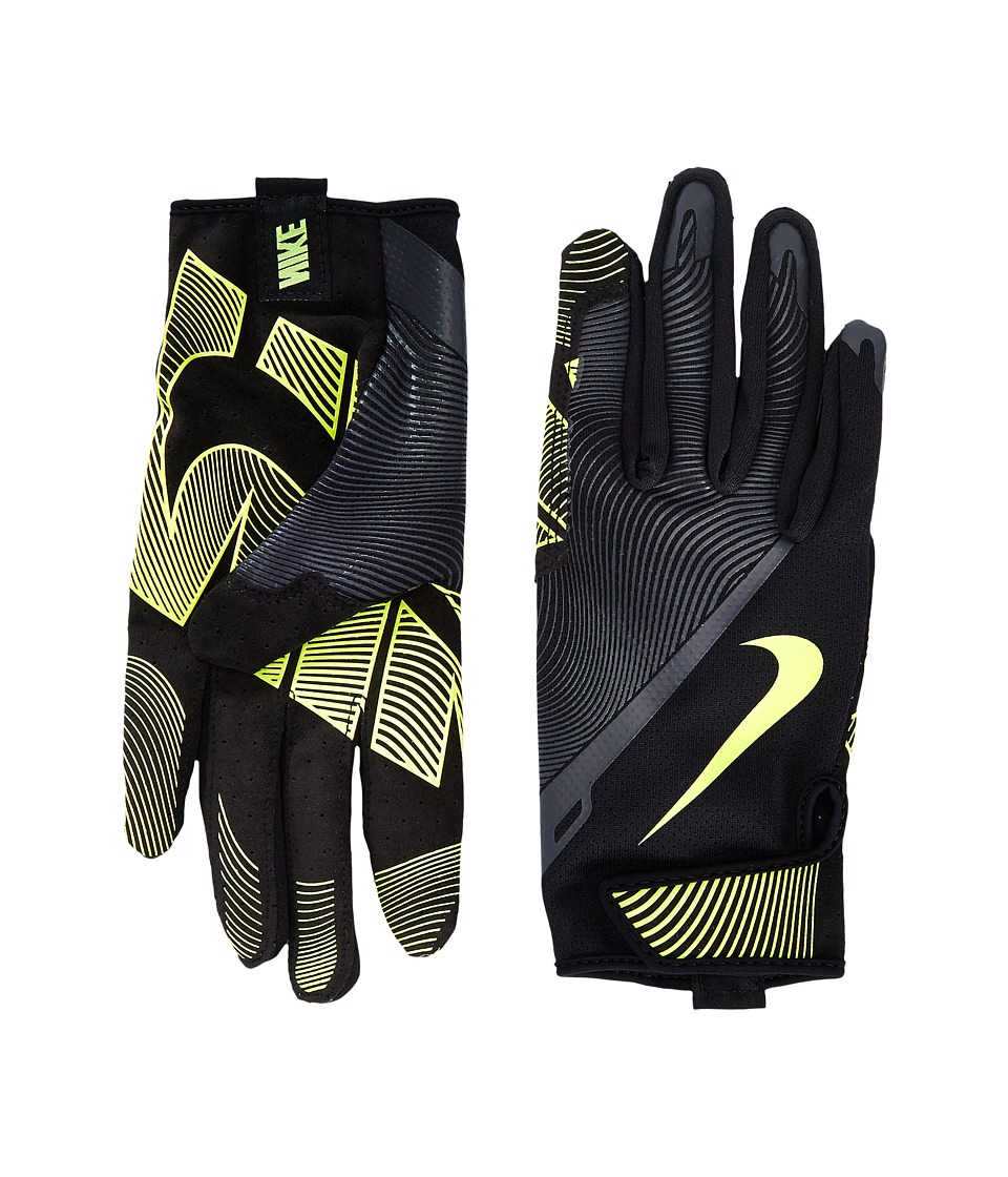 Nike - Lunatic Training Gloves (Black/Anthracite/Volt) Athletic Sports Equipment