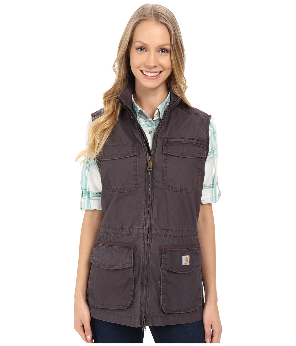 Carhartt - El Paso Utility Vest (Dark Shale) Women's Vest
