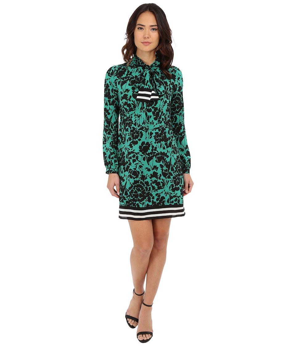 Shoshanna Allen Dress (Jade Multi) Women