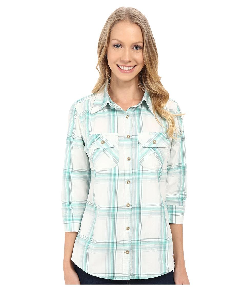Carhartt - Huron Shirt (Spearmint) Women's Long Sleeve Button Up