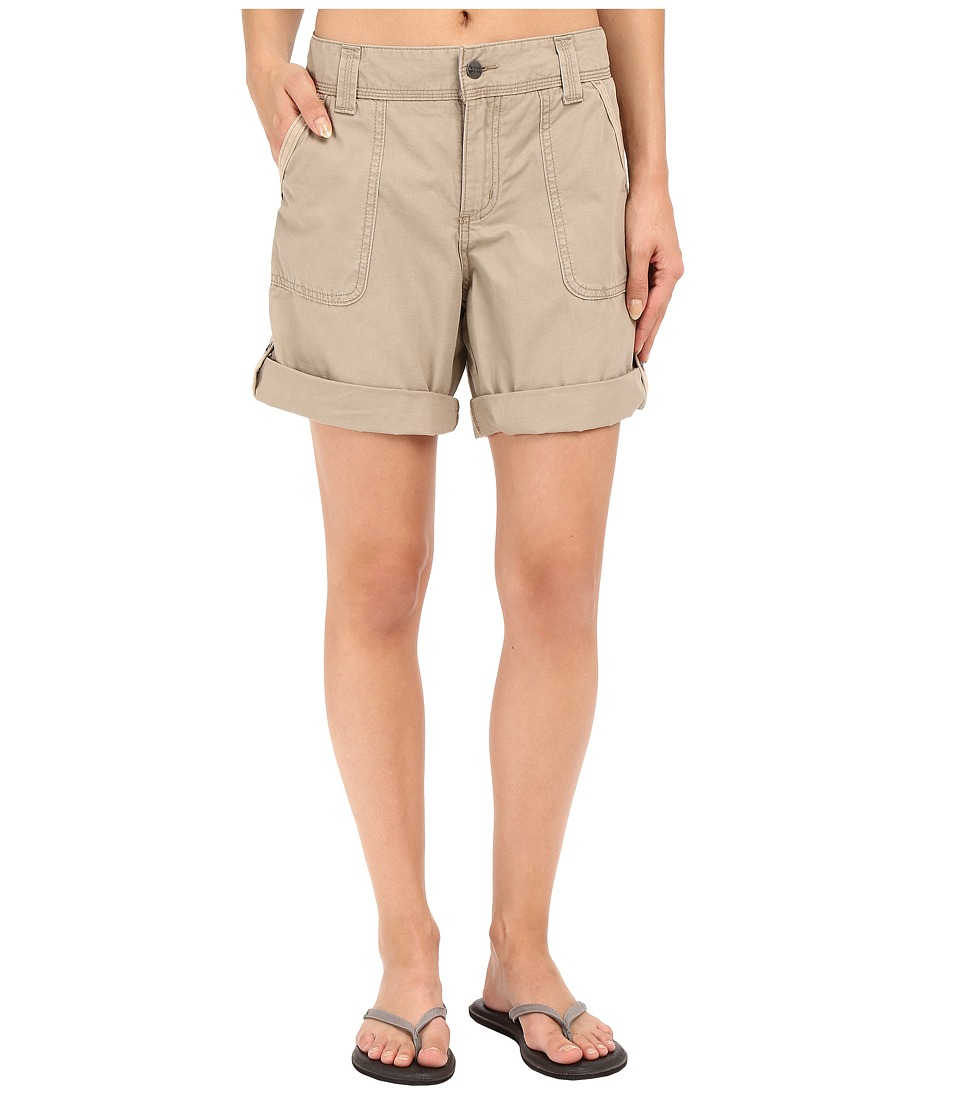 Carhartt - Relaxed Fit El Paso Shorts (Field Khaki) Women's Shorts