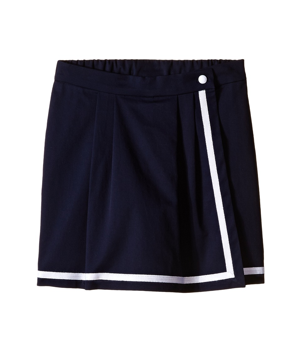 Oscar de la Renta Childrenswear - Cotton Skort (Toddler/Little Kids/Big Kids) (Navy) Girl's Skort